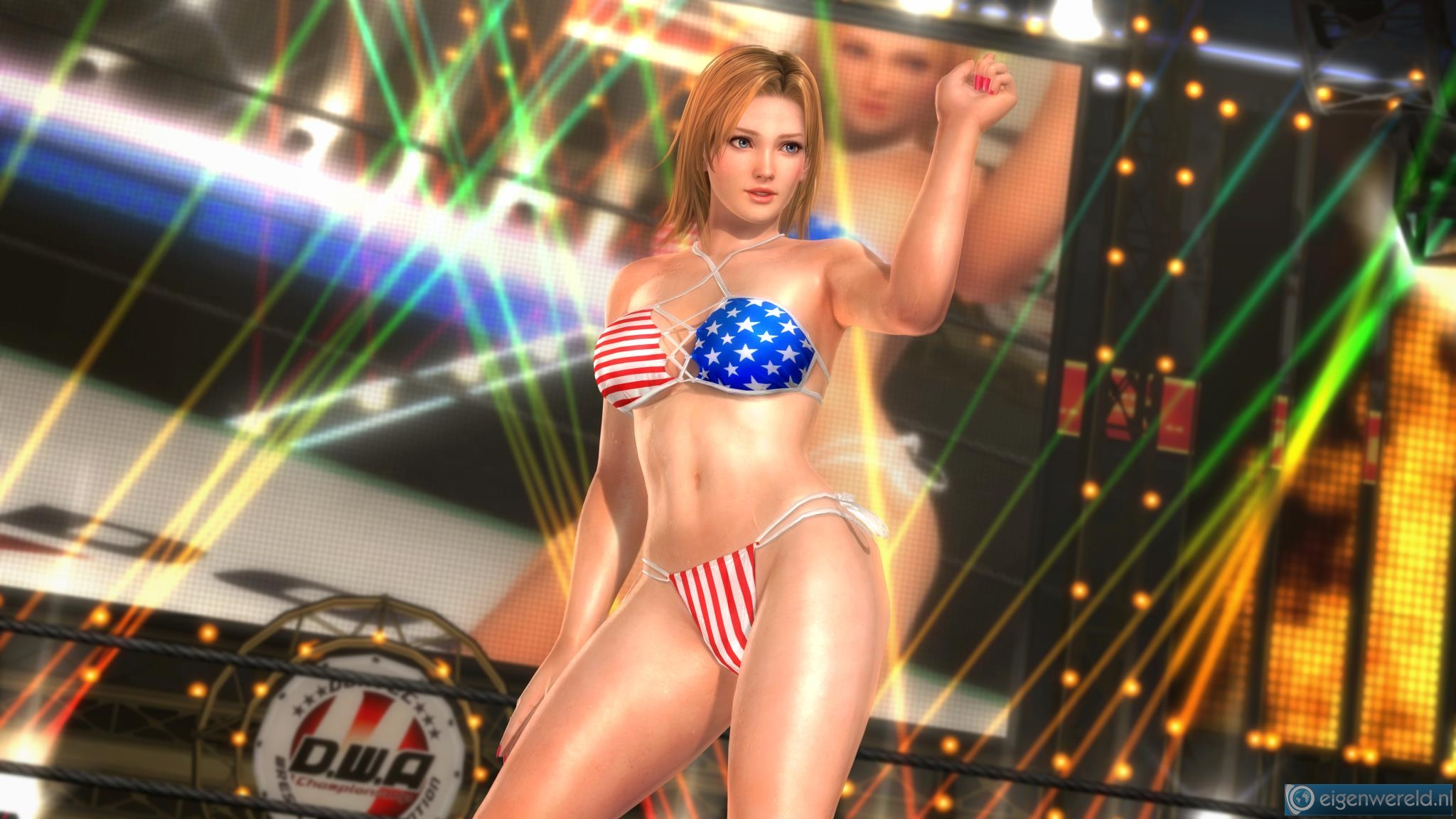 Hot sexy dead or alive 3d babes  porn pictures